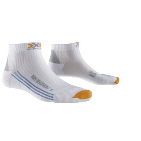 X-Socks Run Discovery - Calcetines Running Mujer - blanco